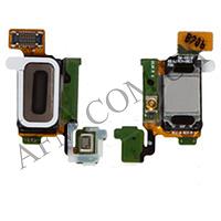 Шлейф (Flat cable) Samsung G920F Galaxy S6 с динамиком,   датчиком освещённости,   микрофоном