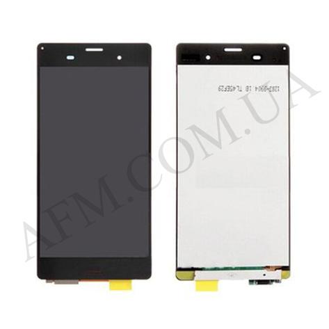 Дисплей (LCD) Sony D6603 Xperia Z3/  D6643/  D6653 Xperia Z3 с сенсором чёрный, фото 2