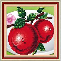 """Алмазная вышивка на кухню """"Яблоко"""""""