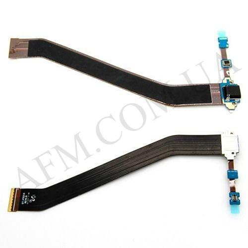Шлейф (Flat cable) Samsung T530 Galaxy Tab 4 10.1/  T531,   с разъемом зарядки,   микрофоном