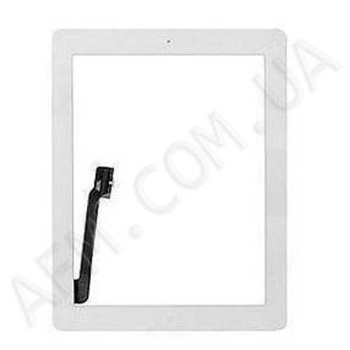 Сенсор (Touch screen) iPad 3/  iPad 4 белый полный комплект