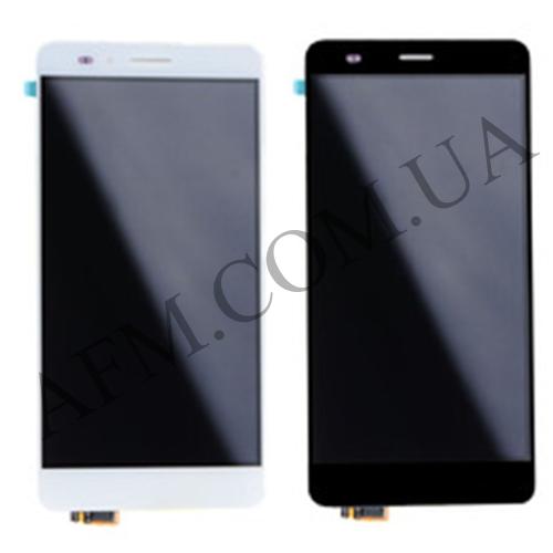 Дисплей (LCD) Huawei Honor 5X (KIW- L21)/  X5/  GR5 (2016) с сенсором чёрный