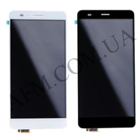Дисплей (LCD) Huawei Honor 5X (KIW- L21)/  X5/  GR5 (2016) с сенсором чёрный, фото 2