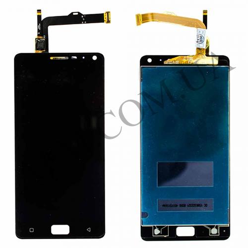 Дисплей (LCD) Lenovo Vibe P1A42 с сенсором чёрный