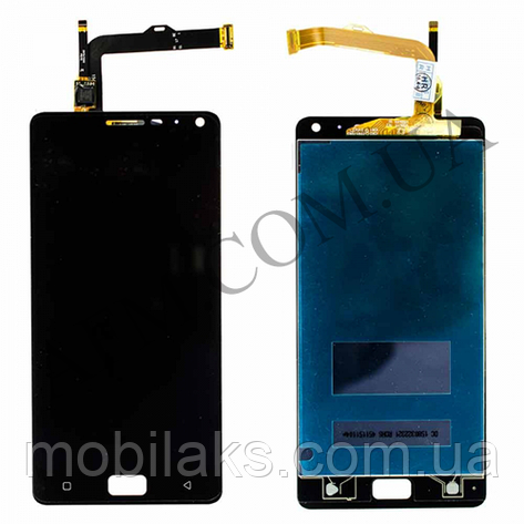 Дисплей (LCD) Lenovo Vibe P1A42 с сенсором чёрный, фото 2
