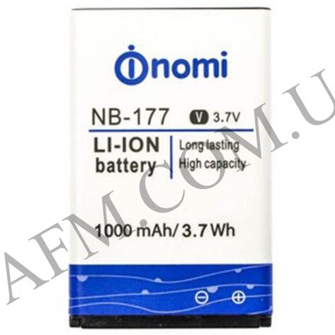 АКБ оригинал Nomi NB- 177 i177/  i180/  i181, фото 2