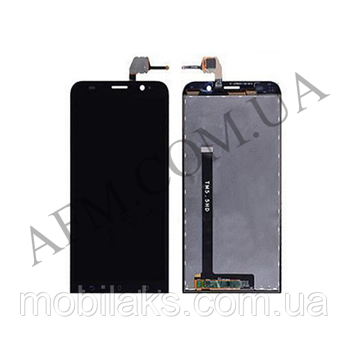 Дисплей (LCD) Asus ZenFone 2 (ZE551ML) с сенсором чёрный