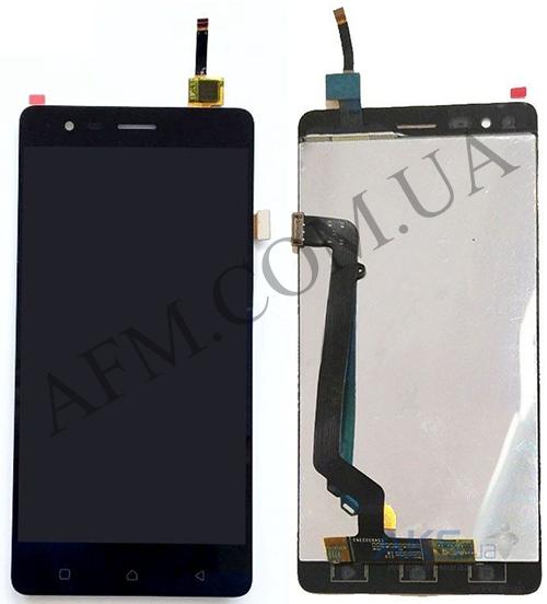 Дисплей (LCD) Lenovo A7020 Vibe K5 Note с сенсором чёрный