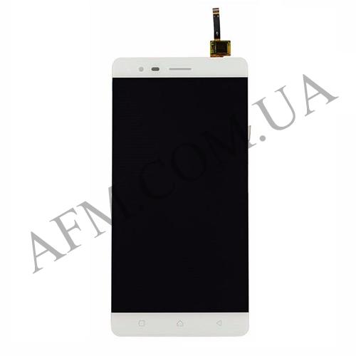 Дисплей (LCD) Lenovo A7020 Vibe K5 Note с сенсором белый