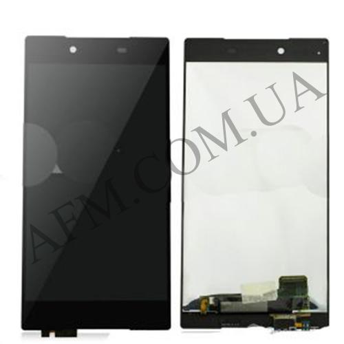 Дисплей (LCD) Sony E6833 Xperia Z5+ Premium Dua Sim/  E6853/  E6883 с сенсором чёрный