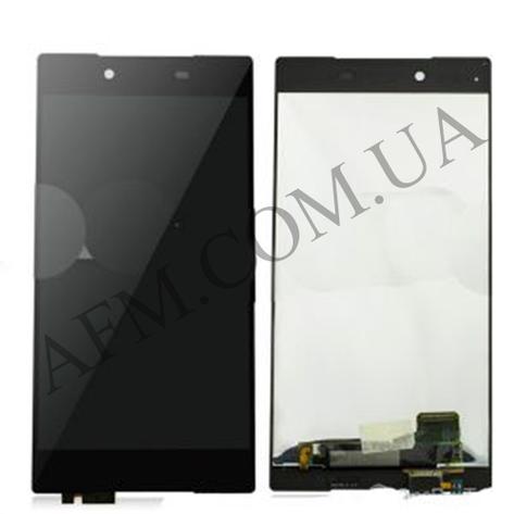 Дисплей (LCD) Sony E6833 Xperia Z5+ Premium Dua Sim/  E6853/  E6883 с сенсором чёрный, фото 2