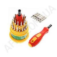 Набор отверток BiSheng BS- 6036 (31 насадка + ручка)