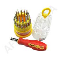 Набор отверток JACKLY JK- 6036A (31 насадка + ручка)