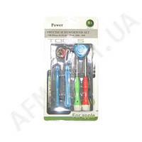 Набор отверток POWER 6011A (2 отвёртки + 2 открывашки +2 медиатора + присоска)