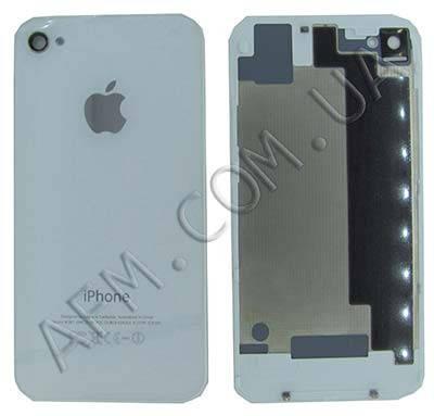 Задняя крышка iPhone 4S белая, фото 2