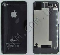 Задняя крышка iPhone 4S чёрная