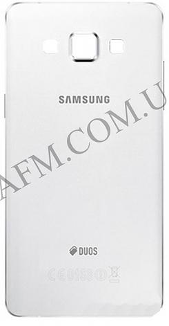 Задняя крышка Samsung A500F Galaxy A5 Duos/  A500FU/  A500H (2015) белая, фото 2