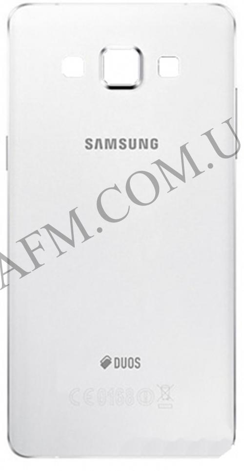 Задняя крышка Samsung A500F Galaxy A5 Duos/  A500FU/  A500H (2015) белая