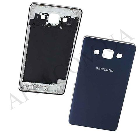 Задняя крышка Samsung A500F Galaxy A5 Duos/  A500FU/  A500H (2015) синяя, фото 2