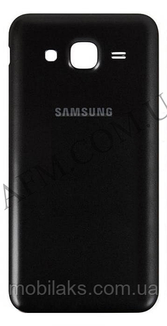 Задняя крышка Samsung J500H/  DS Galaxy J5 чёрная, фото 2