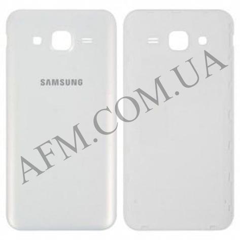 Задняя крышка Samsung J500H/  DS Galaxy J5 белая, фото 2