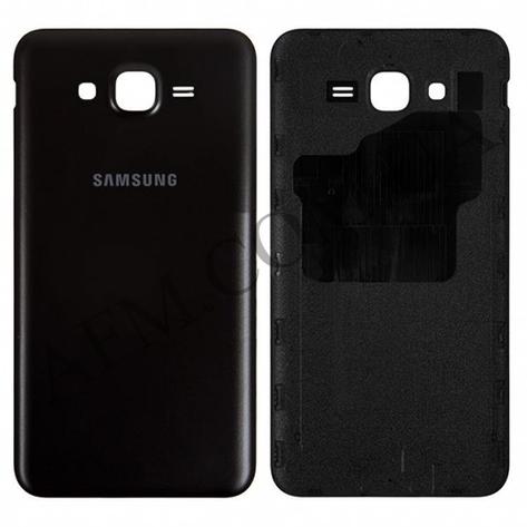 Задняя крышка Samsung J700H/  DS Galaxy J7 чёрная, фото 2