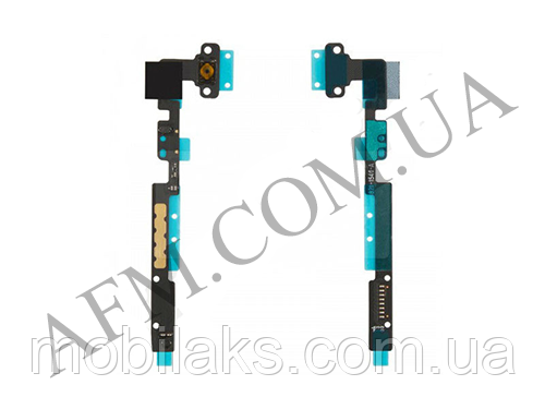 Шлейф (Flat cable) iPad mini/  iPad mini 2 Retina кнопки Home с компонентами, фото 2