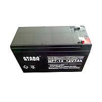 Аккумуляторная батарея ATABA AGM 12V 7Ah