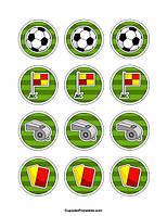 Футбол 31 вафельна картинка