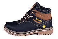 Мужские зимние кожаные ботинки Timberland Legend (реплика), фото 1