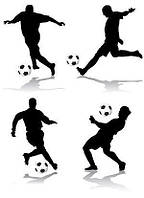Футбол 34 вафельна картинка