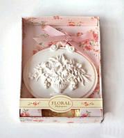 """Итальянские аромакамни из глины """"Букет цветов""""  необычный подарок для  женщины"""