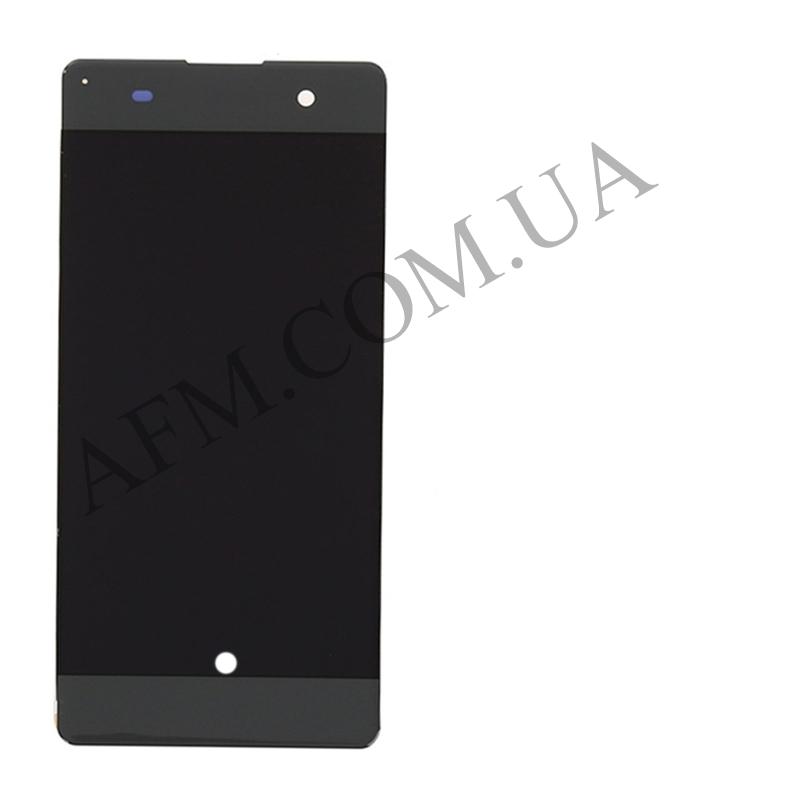 Дисплей (LCD) Sony F3111 Xperia XA/  F3112/  F3113/  F3115/  F3116 с сенсором серый оригинал