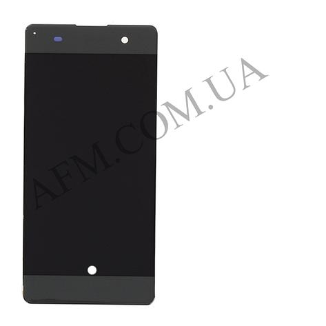 Дисплей (LCD) Sony F3111 Xperia XA/  F3112/  F3113/  F3115/  F3116 с сенсором серый оригинал, фото 2