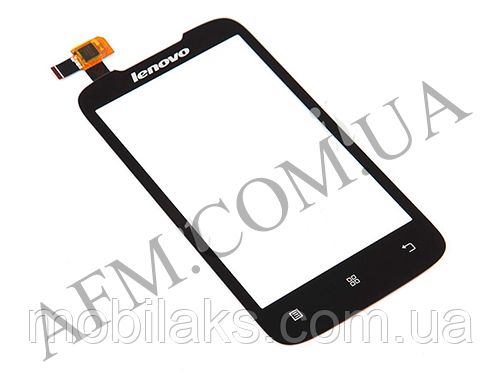 Сенсор (Touch screen) Lenovo A369/  A318 чёрный