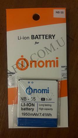 АКБ оригинал Nomi NB- 55 i505, фото 2