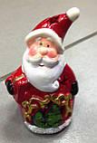 Дід Мороз, новорічна фігурка,10х6 см, сувенір, статуетка, Дніпропетровськ, фото 3