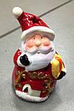 Дід Мороз, новорічна фігурка,10х6 см, сувенір, статуетка, Дніпропетровськ, фото 5