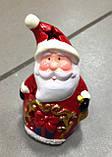 Дід Мороз, новорічна фігурка,10х6 см, сувенір, статуетка, Дніпропетровськ, фото 4