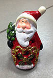 Дід Мороз, новорічна фігурка,10х6 см, сувенір, статуетка, Дніпропетровськ, фото 6