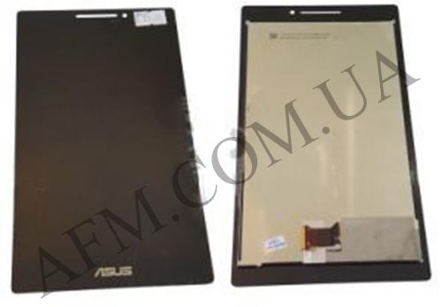 Дисплей (LCD) Asus ZenPad Z370C 7.0 с сенсором чёрный, фото 2
