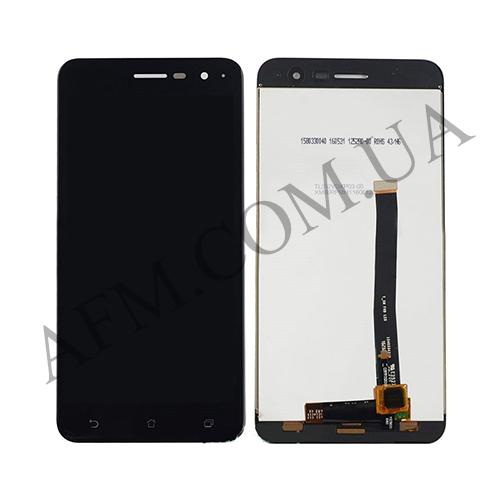 Дисплей (LCD) Asus ZenFone 3 (ZE520KL) с сенсором чёрный