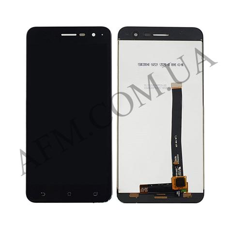 Дисплей (LCD) Asus ZenFone 3 (ZE520KL) с сенсором чёрный, фото 2