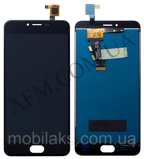 Дисплей (LCD) Meizu M3/  M3 mini (M688H) с сенсором чёрный