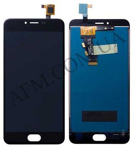 Дисплей (LCD) Meizu M3/  M3 mini (M688H) с сенсором чёрный, фото 2