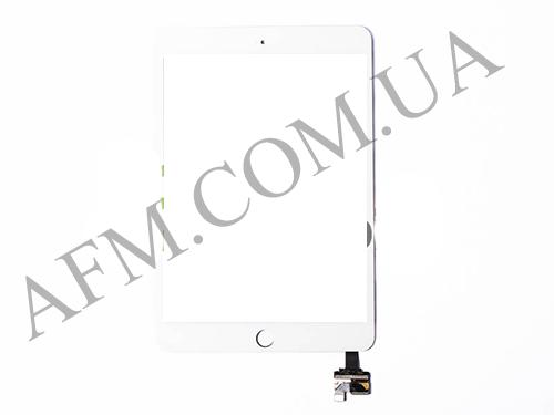 Сенсор (Touch screen) iPad mini 3 Retina белый полный комплект, фото 2