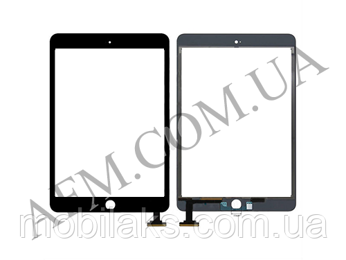 Сенсор (Touch screen) iPad mini 3 Retina чёрный, фото 2