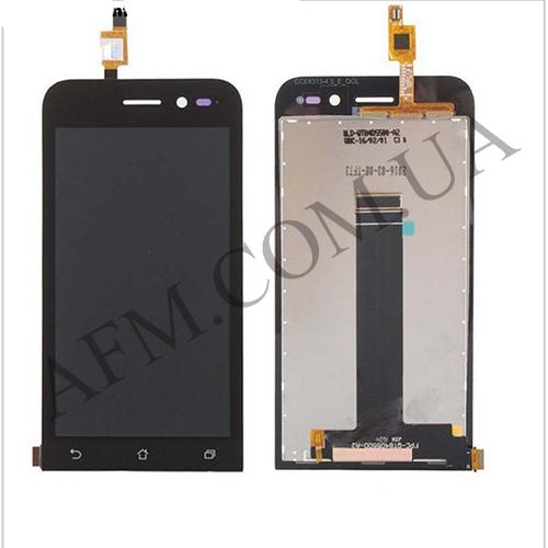 Дисплей (LCD) Asus ZenFone Go (ZB452KG) с сенсором чёрный