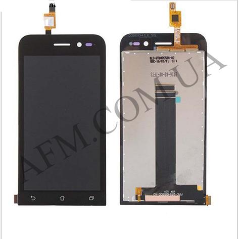 Дисплей (LCD) Asus ZenFone Go (ZB452KG) с сенсором чёрный, фото 2