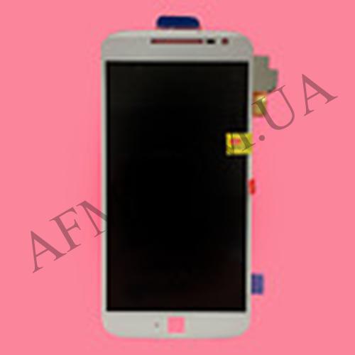 Дисплей (LCD) Motorola XT1620 Moto G4/  XT1621/  XT1622/  XT1624/  XT1625/  XT1626 с сенсором белый